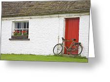 Folk Village Museum, Glencolmcille Greeting Card