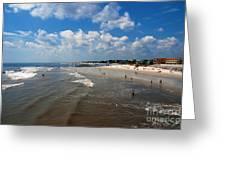 Folly Beach Charleston South Carolina Greeting Card