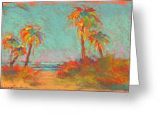 Folly Beach Surfs Up Greeting Card