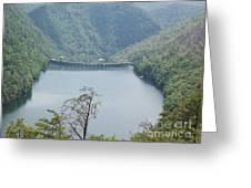 Fontana Dam Greeting Card