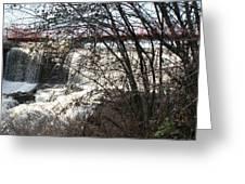 Foot Bridge 2 Greeting Card