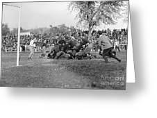 Football Game, 1912 Greeting Card