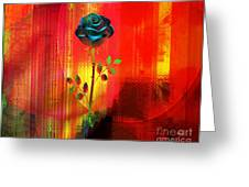 For My Love Greeting Card by Fania Simon