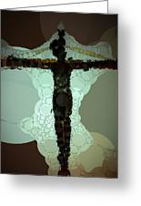 For Our Sins Greeting Card