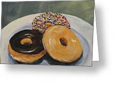 For The Love Of Krispy Kreme Greeting Card