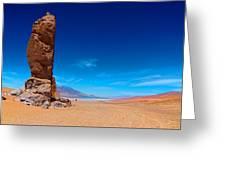 Force Of Nature - Salar De Tara Greeting Card