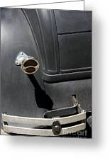 Ford A 1931 Taillight Greeting Card