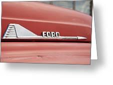 Ford Arrow Greeting Card