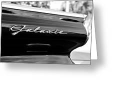 Ford Galaxie Greeting Card