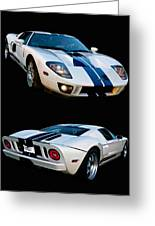 Ford Gt Twins Greeting Card