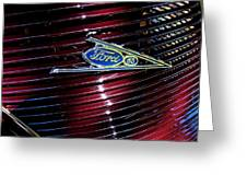 Ford Model 85 Emblem Greeting Card