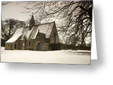 Ford, Northumberland, England Country Greeting Card