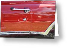 Ford Ranchero Door And Side Panel Greeting Card