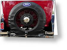Ford T Bucket Greeting Card