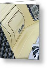 Ford Thunderbird Head Light Greeting Card