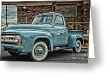Ford Tough Greeting Card by Tamera James