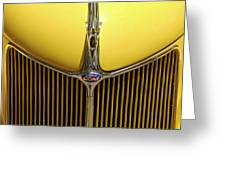 Ford V8 Greeting Card by Mike McGlothlen
