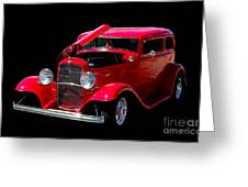 Ford Vicky 1932 Greeting Card
