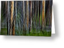 Forest Impression No.119 Greeting Card