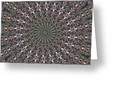 Forest Mandala 2 Greeting Card
