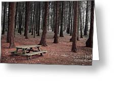 Forest Table Greeting Card