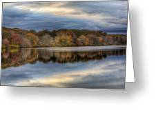 Forge River In Fall Greeting Card