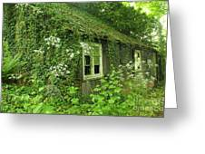 The Forgotten English Cottage Greeting Card