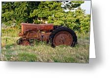 Forgotten Tractor 23 Greeting Card
