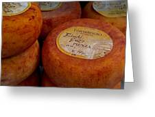 Formaggio Cheese Of Italy Greeting Card by Roger Mullenhour