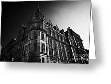 Former Prudential Assurance Building St Andrew Square Edinburgh Scotland Uk United Kingdom Greeting Card