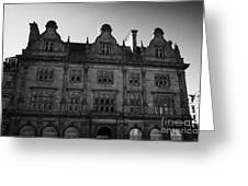 Former Scottish Equitable Life Offices 28 St Andrew Square Edinburgh Scotland Uk United Kingdom Greeting Card