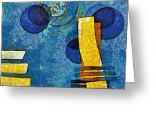 Formes - 09g Greeting Card