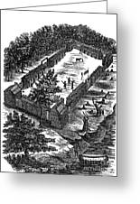 Fort Boonesborough, 1775 Greeting Card