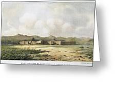 Fort Bridger, Wyoming, 1852 Greeting Card