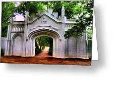 Fort Canning Park Greeting Card