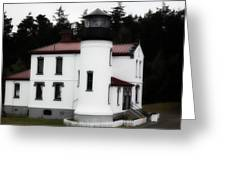 Fort Casey Lighthouse Greeting Card