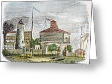 Fort Dearborn, 1830 Greeting Card