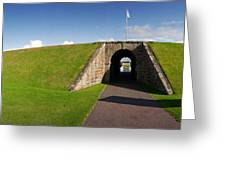 Fort George Port Greeting Card