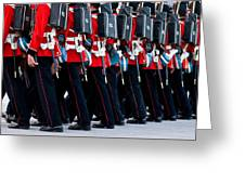 Fort Henry Guards Marching Greeting Card