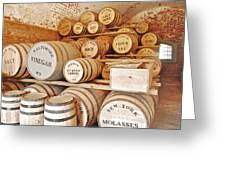 Fort Macon Food Supplies_9070_3759 Greeting Card