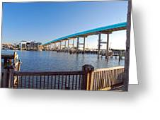Fort Myers Bridge Greeting Card
