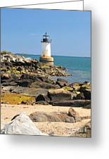 Fort Pickering Lighthouse Greeting Card