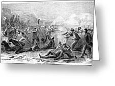 Fort Pillow Massacre, 1864 Greeting Card