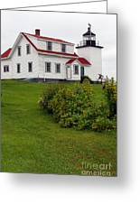 Fort Point Lighthouse Greeting Card