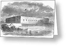 Fort Pulaski, Georgia, 1861 Greeting Card