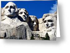 Fortitude In America Greeting Card