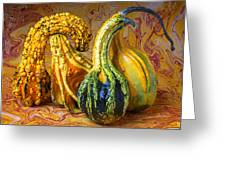 Four Gourds Greeting Card