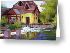 Fourge Mill Giverny Greeting Card