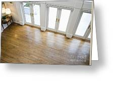 Foyer And French Doors Greeting Card by Andersen Ross