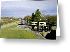 Fradley Middle Lock No. 18 Greeting Card by Rod Johnson